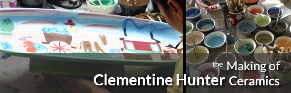 Gitter Gallery - Making of Clementine Hunter Ceramics